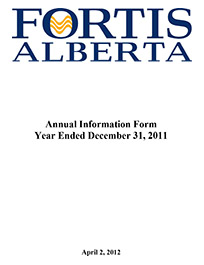 2011 Annual Information Form (AIF)