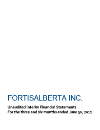 2012 June Financial Statements