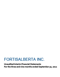 2012 Sept Financial Statements