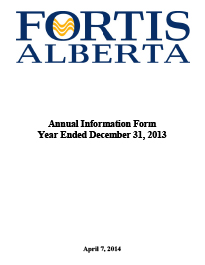 2013 Annual Information Form (AIF)
