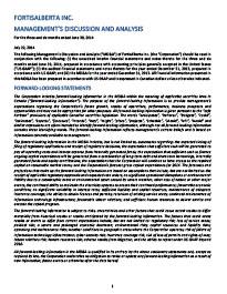 2014 June Management Discussion