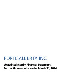 2014 March Financial Statements