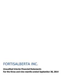 2014 September Financial Statements