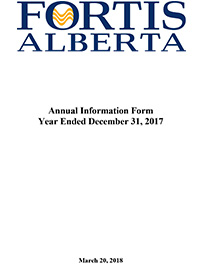 2017 Annual Information Form (AIF)