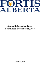 2018 Annual Information Form (AIF)