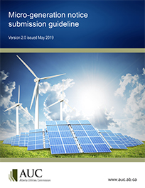 AUC Micro-Generation Notice Submission Guideline