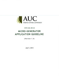 AUC MicroGenerator Application Guideline