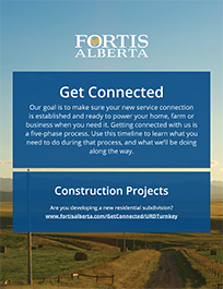 FortisAlberta - Get Connected