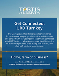 FortisAlberta - Get Connected URD Turnkey