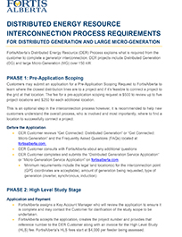 FortisAlberta DER Interconnection Detailed Process