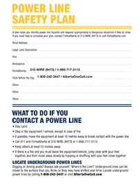 FortisAlberta Power Line Safety Plan
