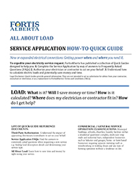 Load Quick Guide