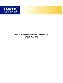 Power Quality Specifications