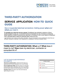 Third Party Authorization Quick Guide